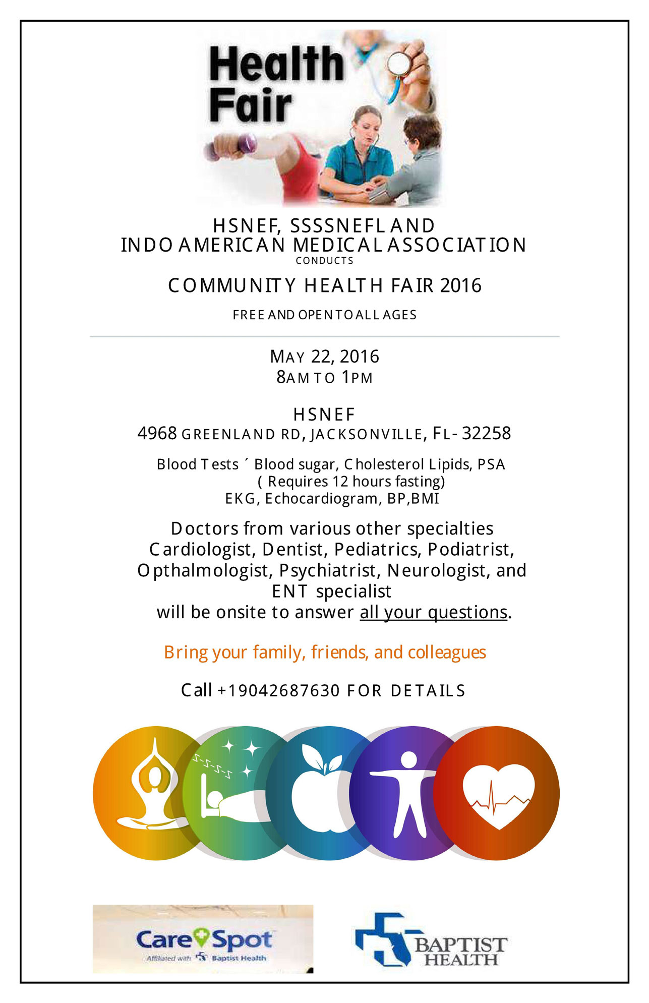 Health Fair 2016 Event Details